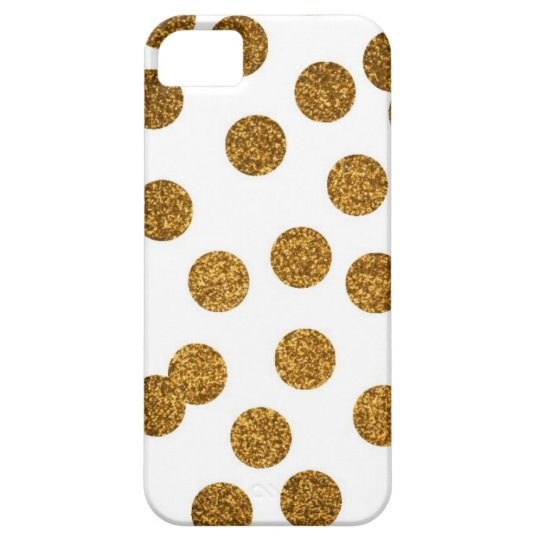 Glitter Gold iPhone Case