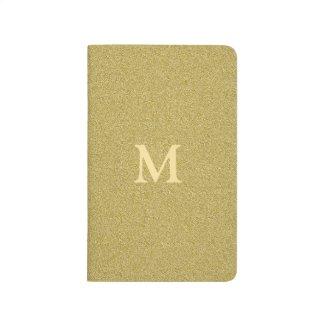Glitter Gold Monogrammed