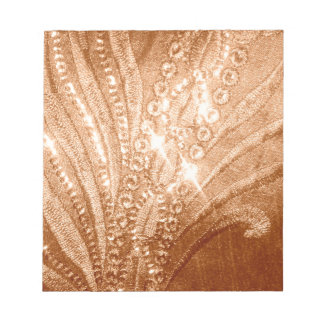 Glitter Gold Note Pad