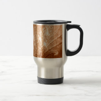 Glitter Gold Travel Mug