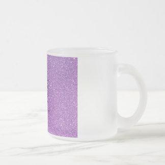 Glitter Gorilla Frosted Glass Coffee Mug