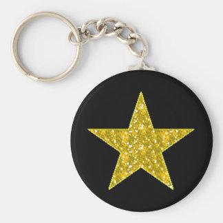 glitter-graphicsglitterimage120 basic round button keychain