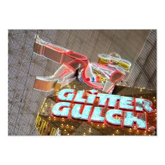 Glitter Gulch Bachelor Party Invitations