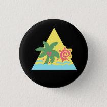 Glitter Hair Flair Badge [Classic] Pinback Button