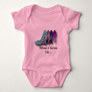 Glitter High Heel Shoes Fashion Shirts