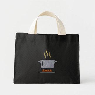 Glitter Hot Pot Mini Tote Bag