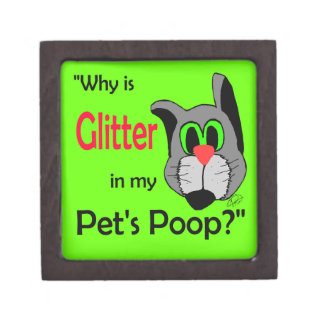 Glitter in Pets Poop Premium Gift Boxes
