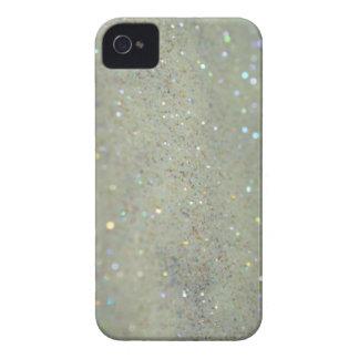 Glitter iPhone case close up cream iPhone 4 Covers