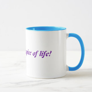 Glitter is the spice of life! mug