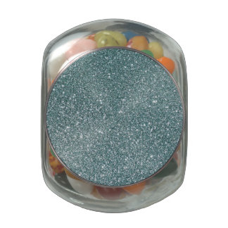 Glitter Jelly Belly Candy Jars