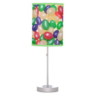 Glitter Jelly Bird Eggs Custom Table Lamp