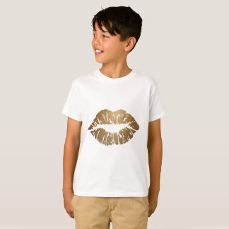 Glitter Kiss Lipstick Love T-Shirt
