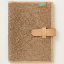 Glitter Leather Journal