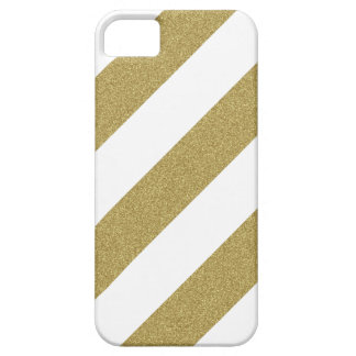Glitter-look striped iPhone Case iPhone 5 Cases