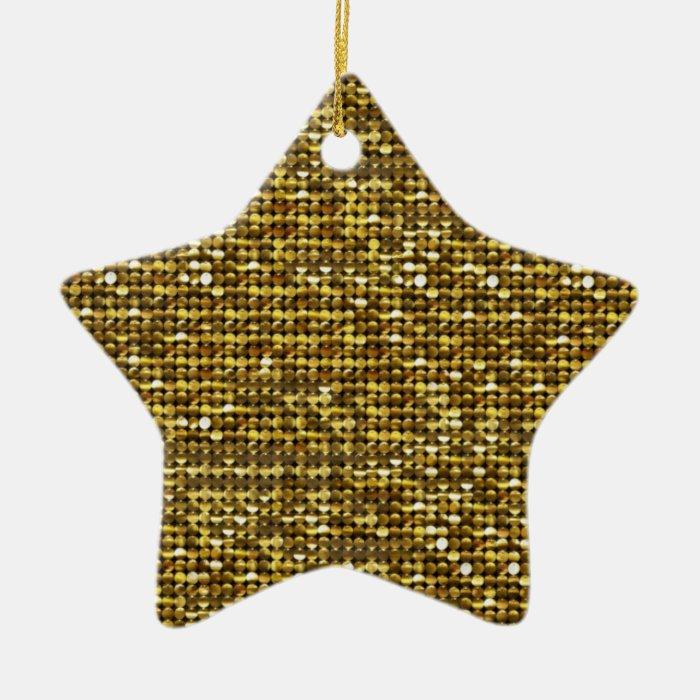 Glitter Magic Star Ornament