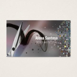 Glitter Makeup Artist Business Card