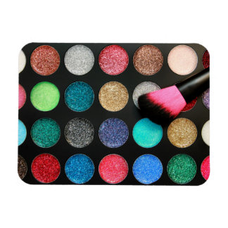 Glitter Makeup Flexi Magnet