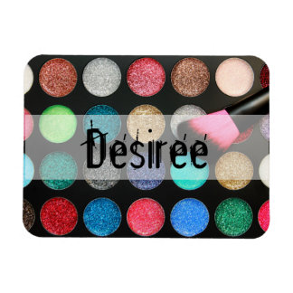 Glitter Makeup Flexi Magnet Personalized