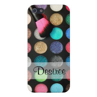 Glitter Makeup iPhone 5 Case