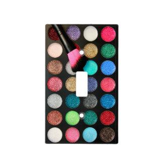 Glitter Makeup Light Switch Cover