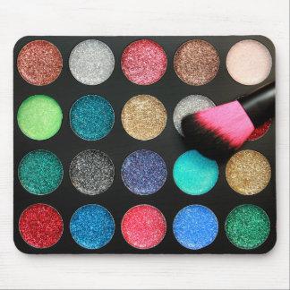Glitter Makeup Mousepad