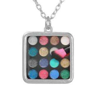 Glitter Makeup Necklace