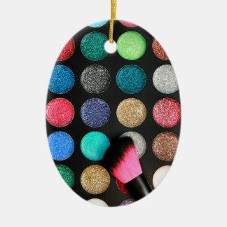 Glitter Makeup Ornament