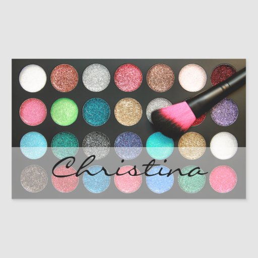 Glitter Makeup Stickers