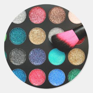 Glitter Makeup Stickers