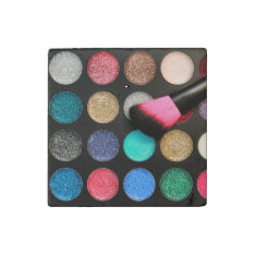 Glitter Makeup Stone Magnet at Zazzle