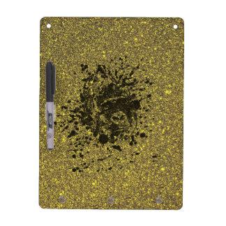 Glitter Monkey Dry-Erase Board