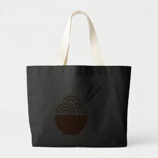 Glitter Noodle Soup Tote Bag