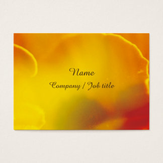Glitter Orange Sweet Abstract Paint  Reasonable Business Card