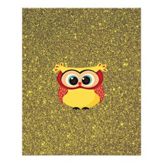 Glitter Owl Flyer