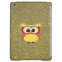 Glitter Owl iPad Air Case