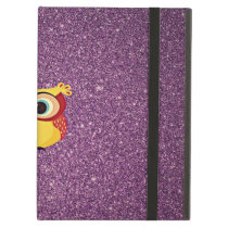 Glitter Owl iPad Air Cover
