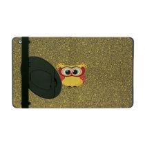 Glitter Owl iPad Case