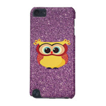 Glitter Owl iPod Touch 5G Case