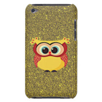 Glitter Owl iPod Touch Cover