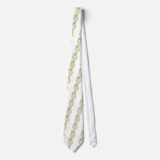 Glitter Pineapple Products Tie