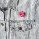 Glitter Pink Circles Button