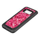 Glitter Pink Circles OtterBox Defender Samsung Galaxy S8 Case