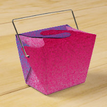 Glitter Pink-Purple-PARTY FAVOR BOX, take out Favor Box