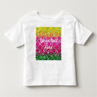 Glitter Pink Snakeskin Toddler T-shirt