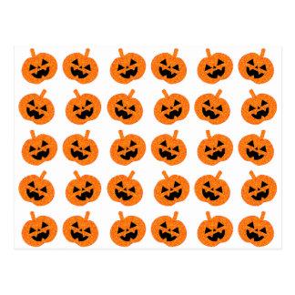 Glitter Pumpkins Post Cards