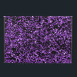 "Glitter purple iPad air case<br><div class=""desc"">Made with a shade of purple glitter texture.</div>"