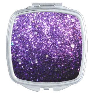 Glitter Purple Mirrors