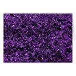 Glitter purple Note Stationery Note Card