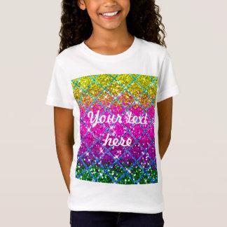 Glitter Purple Snakeskin T-Shirt