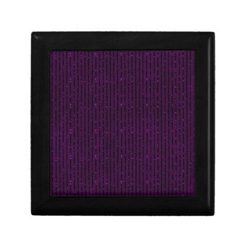glitter purple stripes trinket boxes